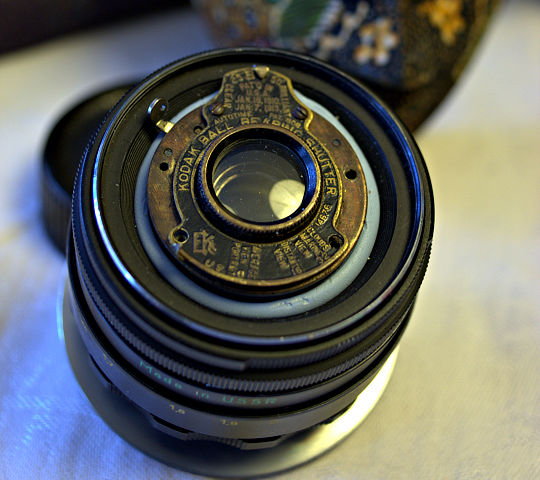 Bokeh! Canon EOS 350D with VPK Rapid Rectilinear